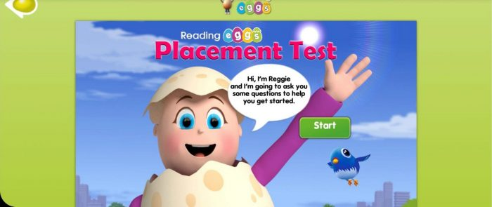 Crack into Reading with Reading Eggs