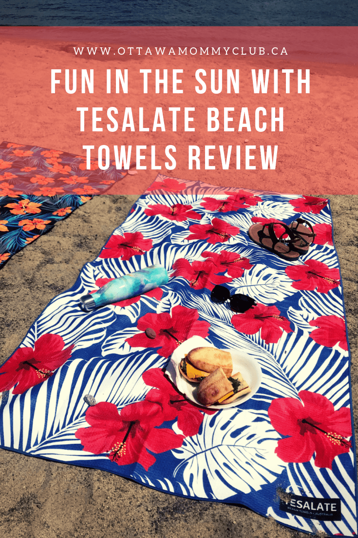 Fun in the Sun with Tesalate Beach Towels Review