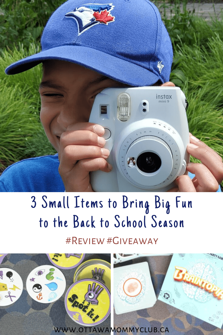 3 Small Items to Bring Big Fun to the Back to School Season