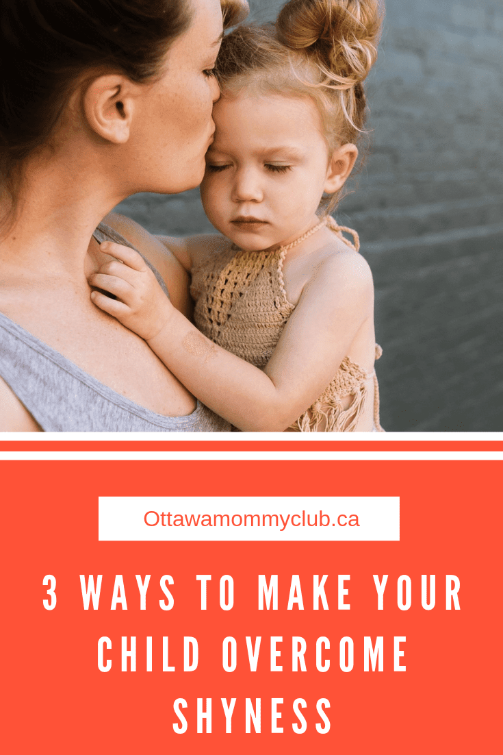 3 Ways to Make your Child Overcome Shyness