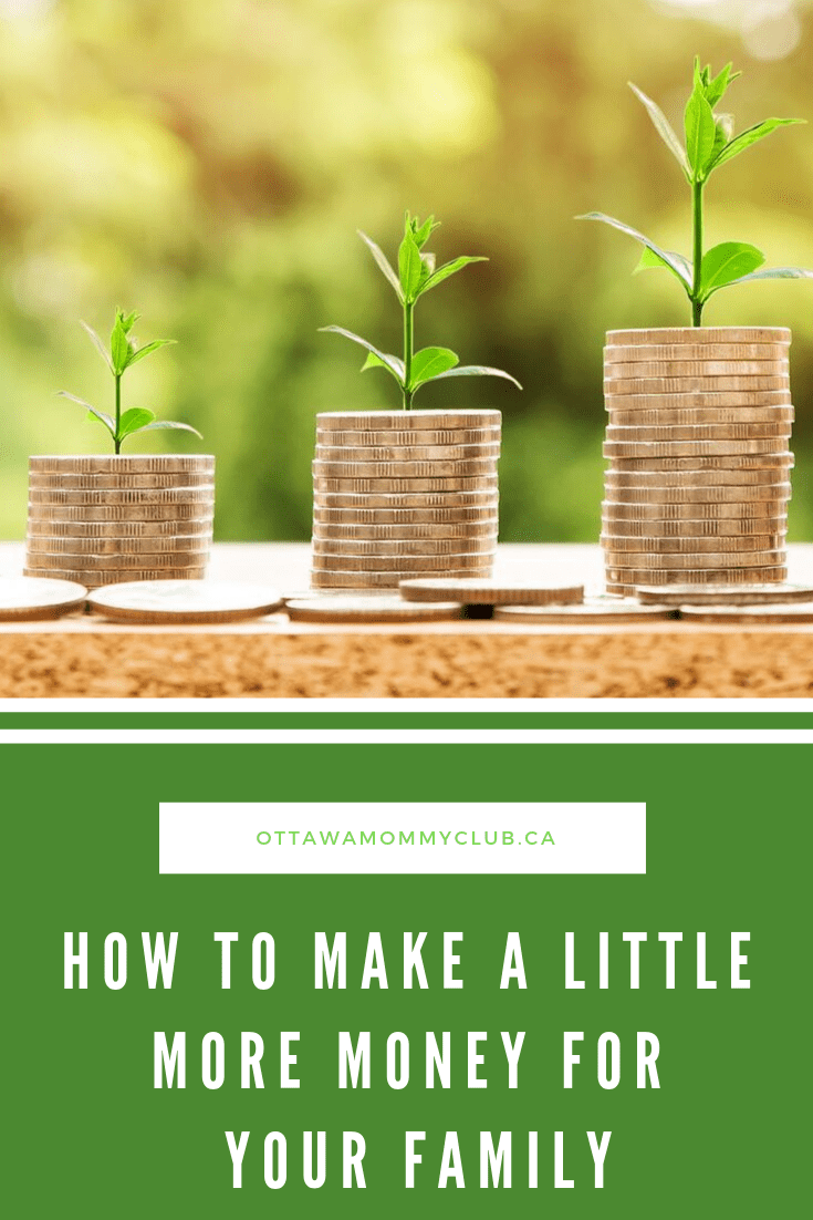 How to Make a Little More Money for Your Family