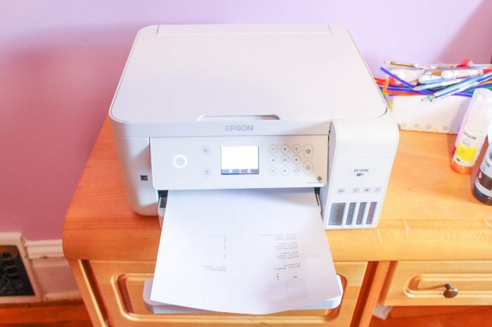Epson EcoTank ET-3710 All-in-One Cartridge-Free Supertank Printer - Review