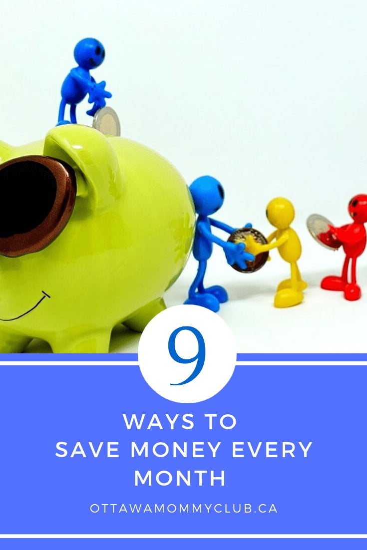 Ways to Save Money Every Month