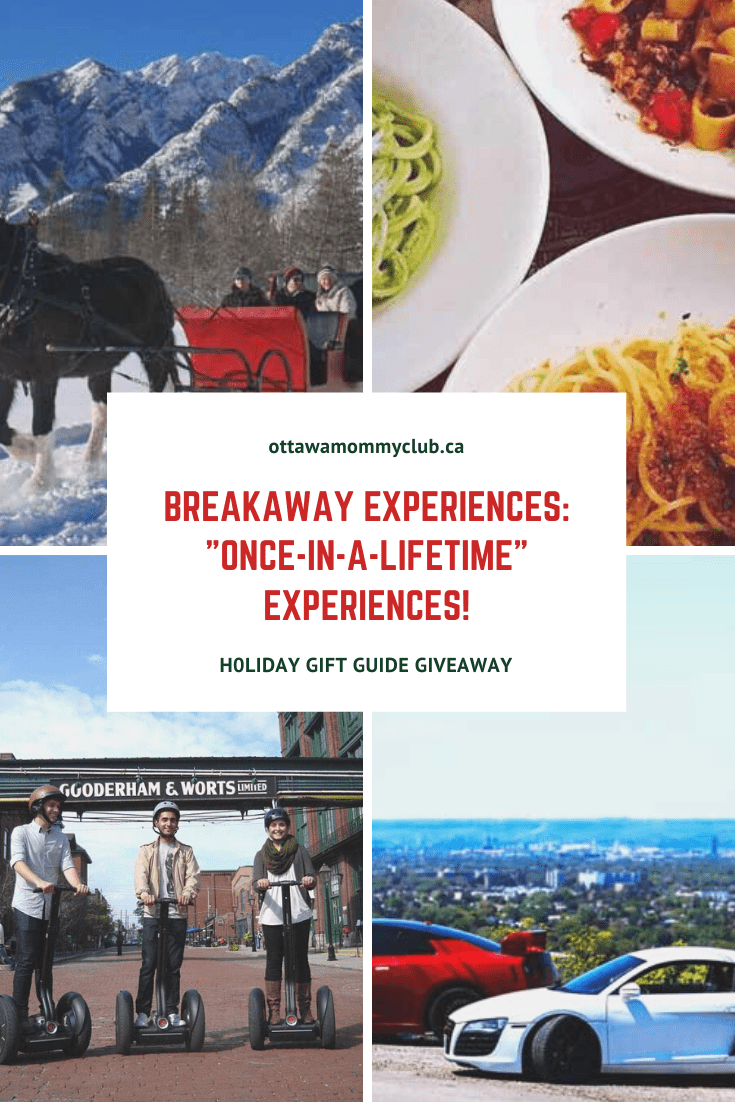 "Breakaway Experiences: ""Once-in-a-Lifetime"" Experiences!"