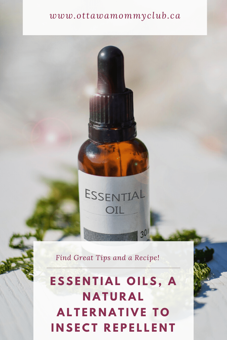 Essential Oils, a Natural Alternative to Insect Repellent