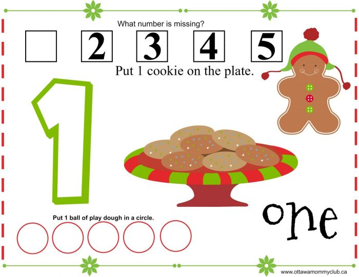 Gingerbread Play Dough Mats