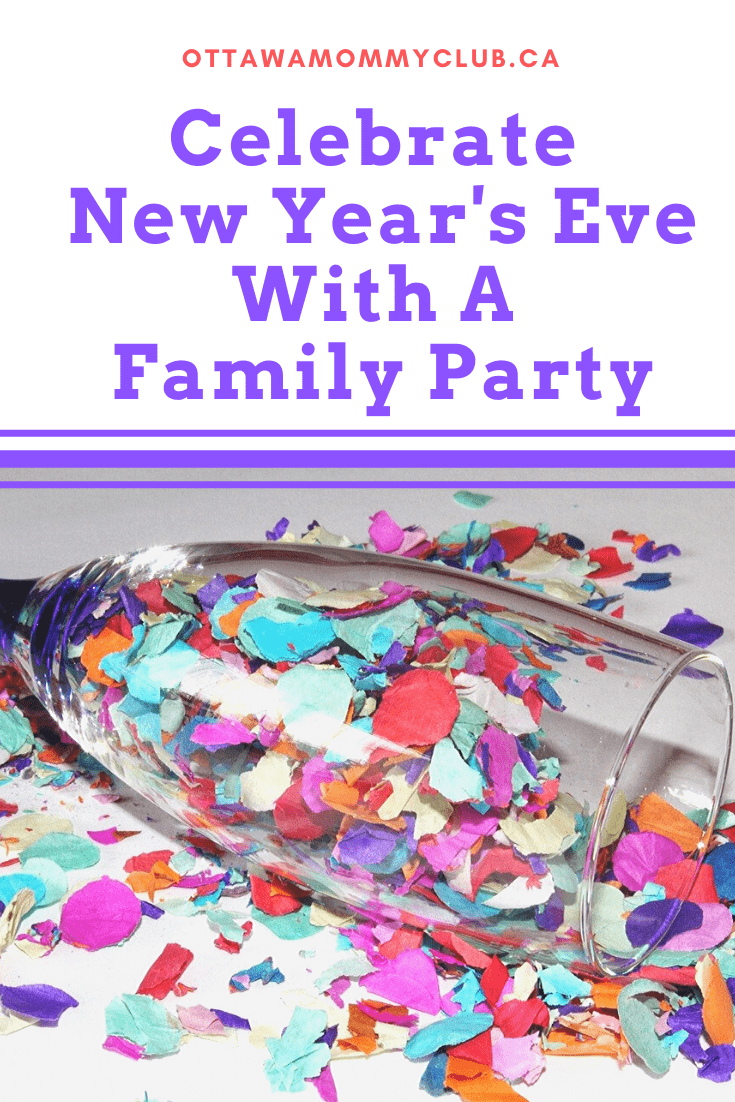 Celebrate New Years Eve With A Family Party