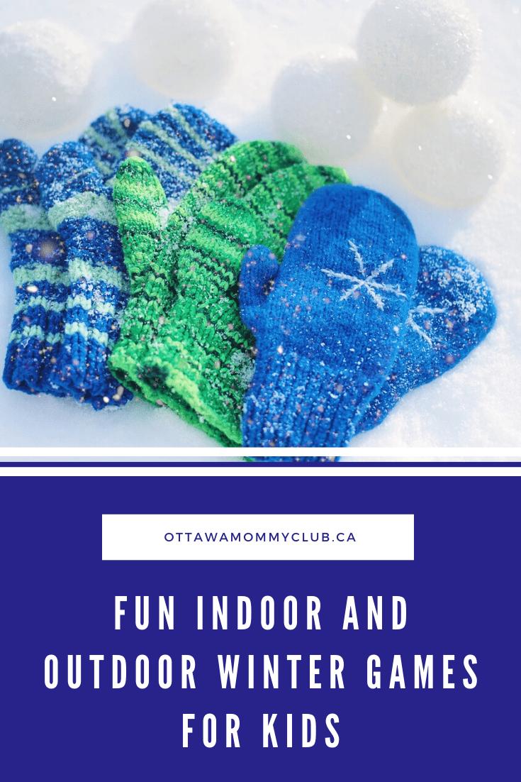 Fun Indoor and Outdoor Winter Games for Kids