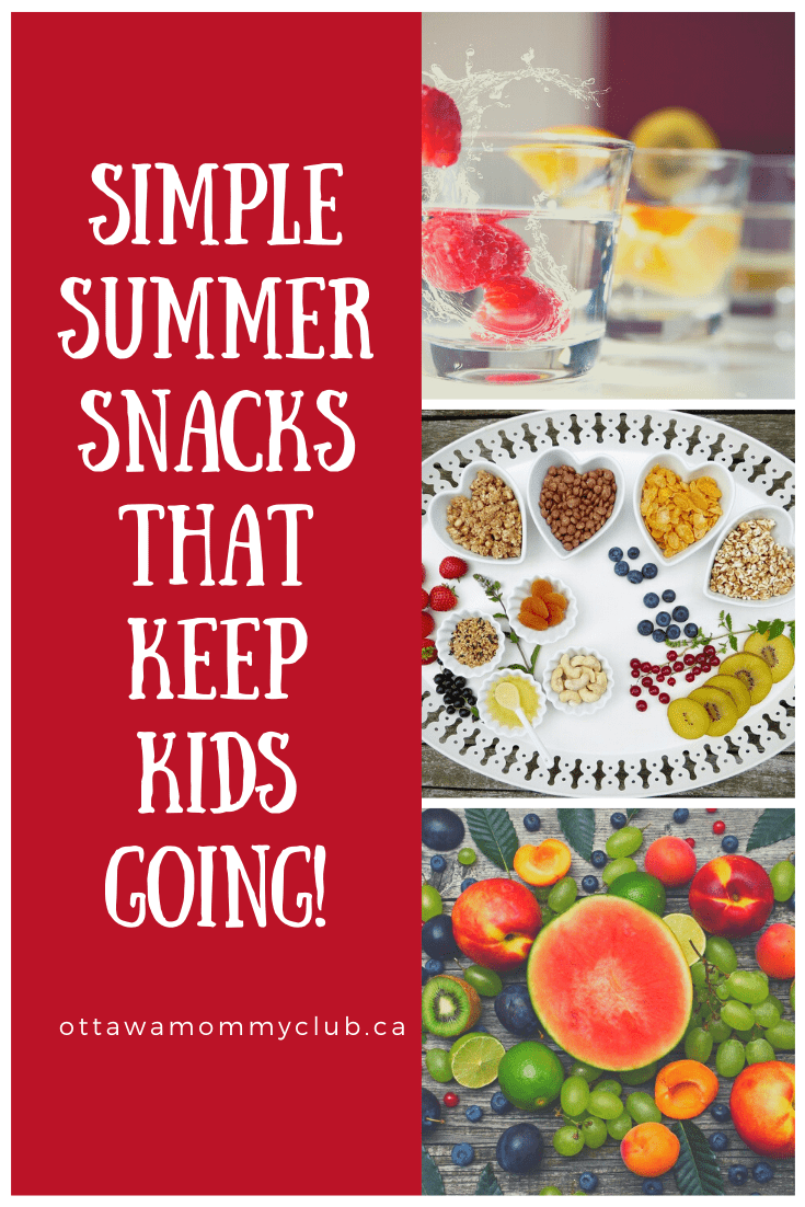 Simple Summer Snacks That Keep Kids Going!