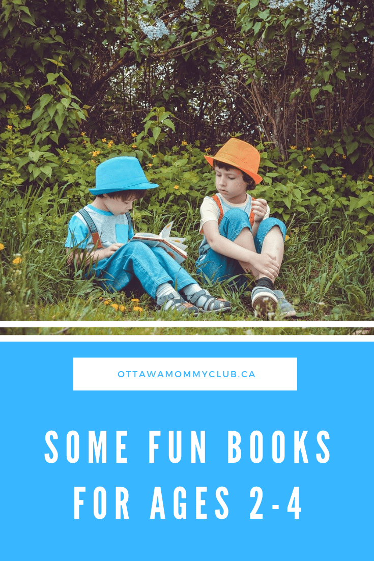 Some Fun Books for Ages 2-4