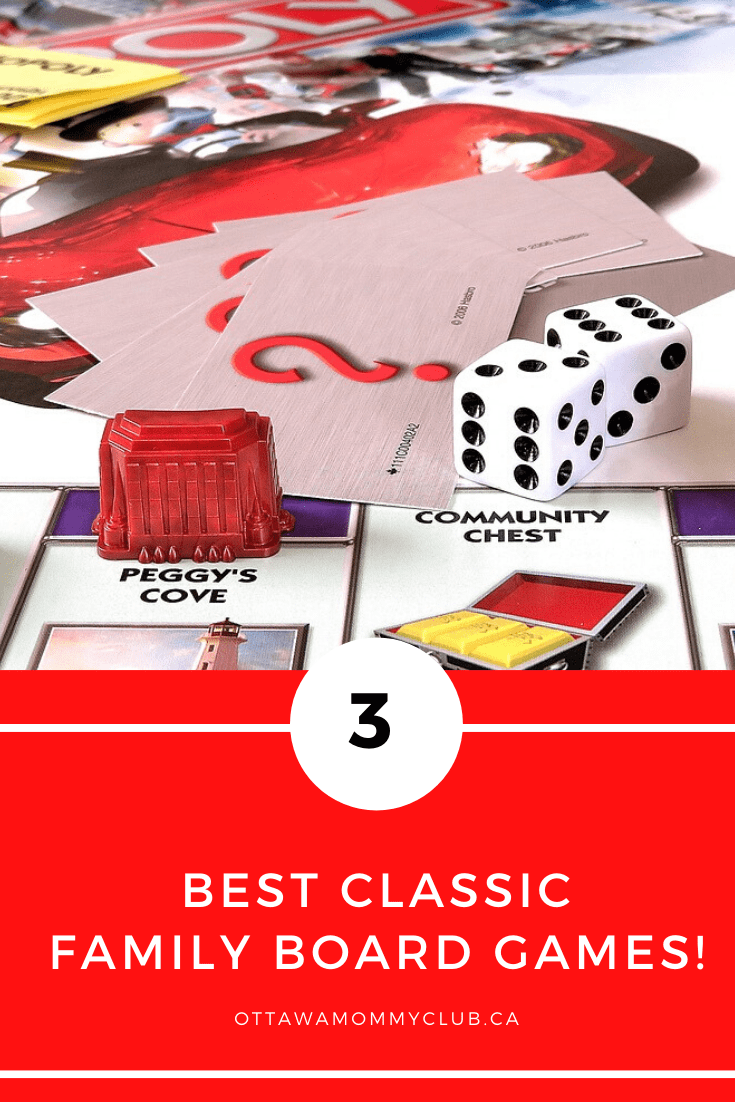 3 Best Classic Family Board Games