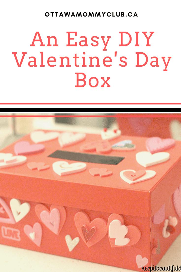 An Easy DIY Valentine's Day Box