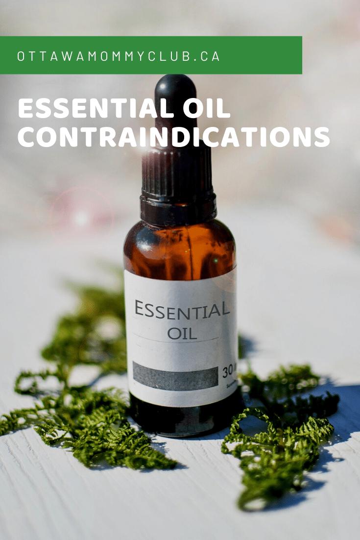 Essential Oil Contraindications