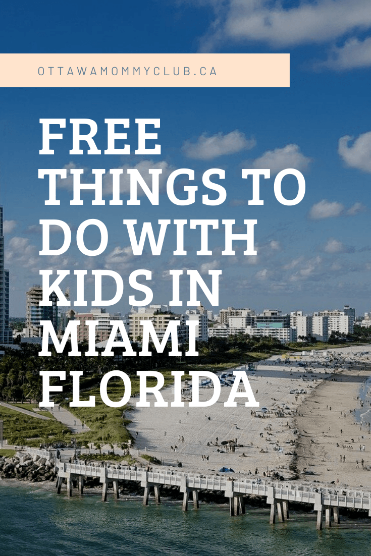 Free Things to Do with Kids in Miami Florida