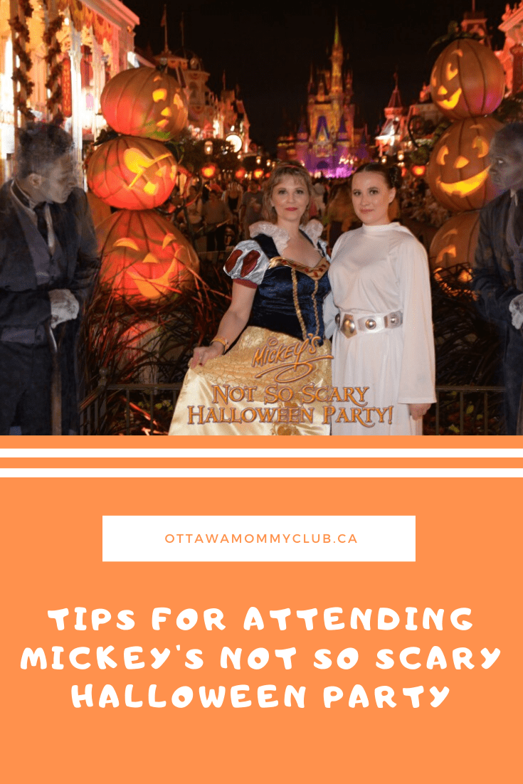 Tips for Attending Mickey's Not So Scary Halloween Party