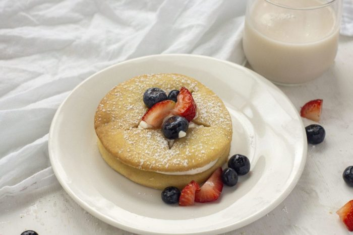 Berry Shortcake Cornmeal Cookies