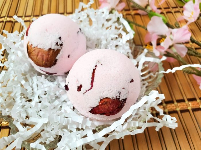 Rose Petal Bath Bombs recipe