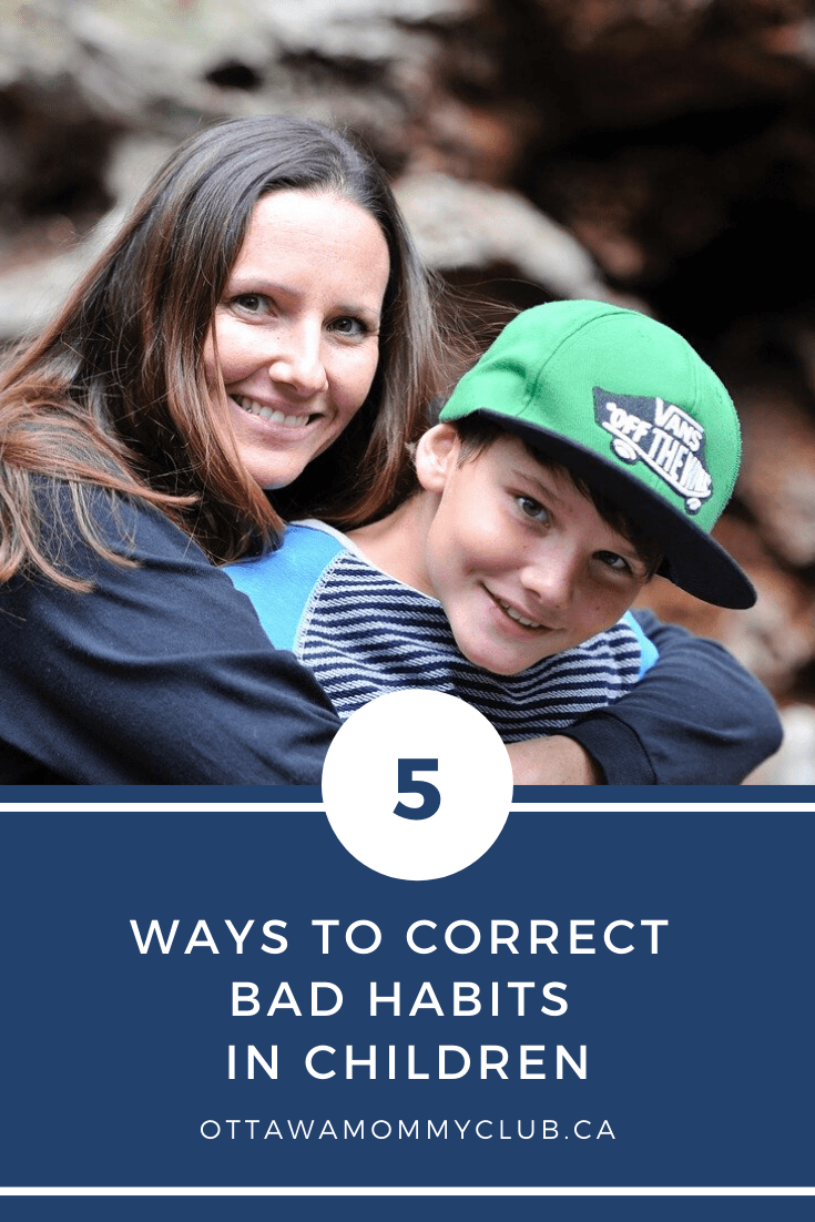 5 Ways to Correct Bad Habits in Children