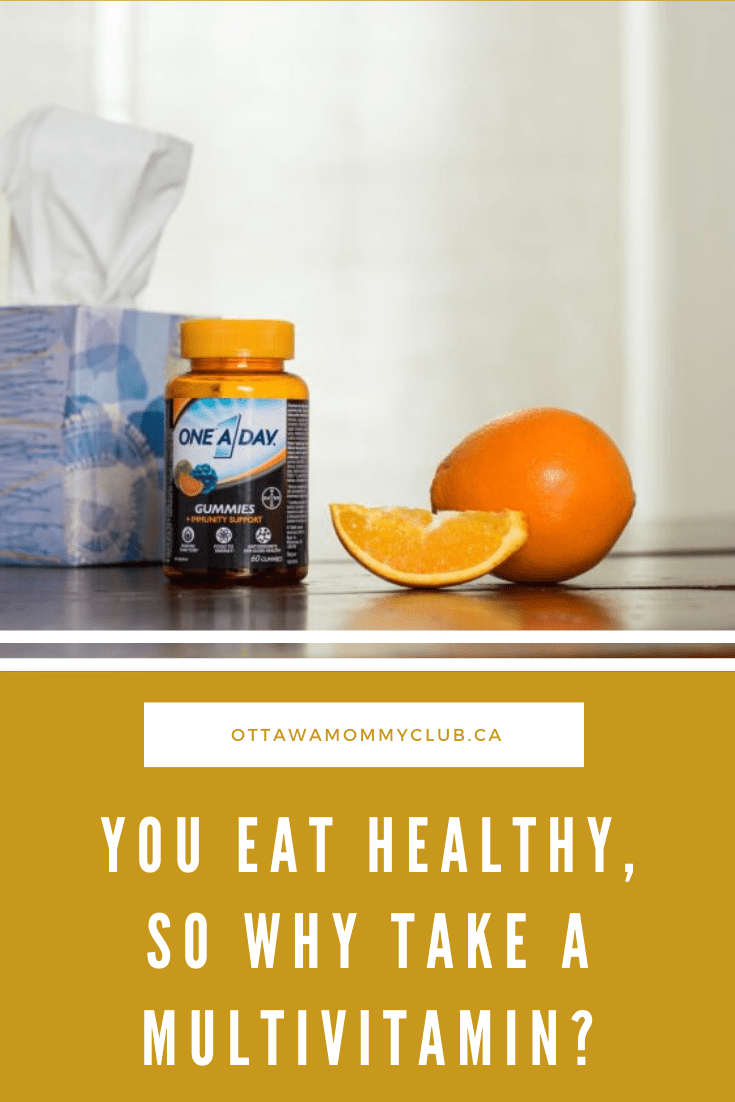 You Eat Healthy, So Why Take a Multivitamin?