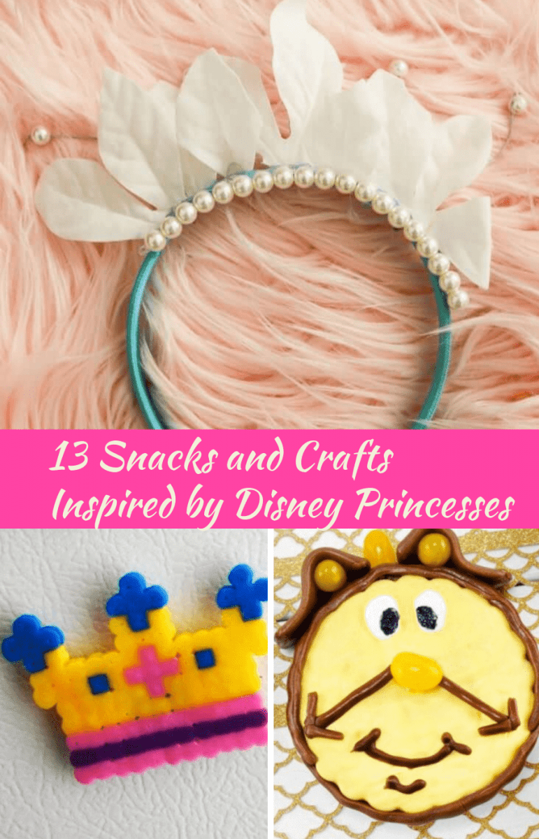 13 Snacks and Crafts Inspired by Disney Princesses