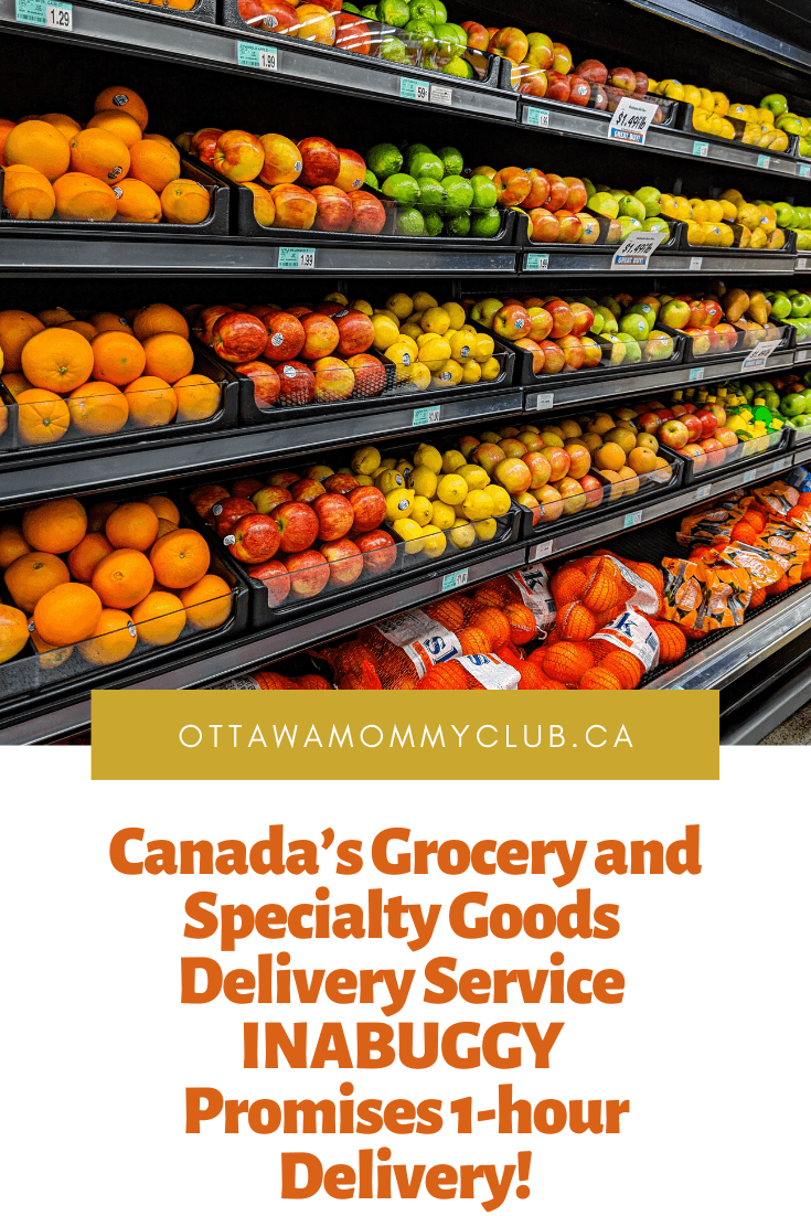 Canada's Grocery and Specialty Goods Delivery Service INABUGGY Promises 1-hour Delivery!