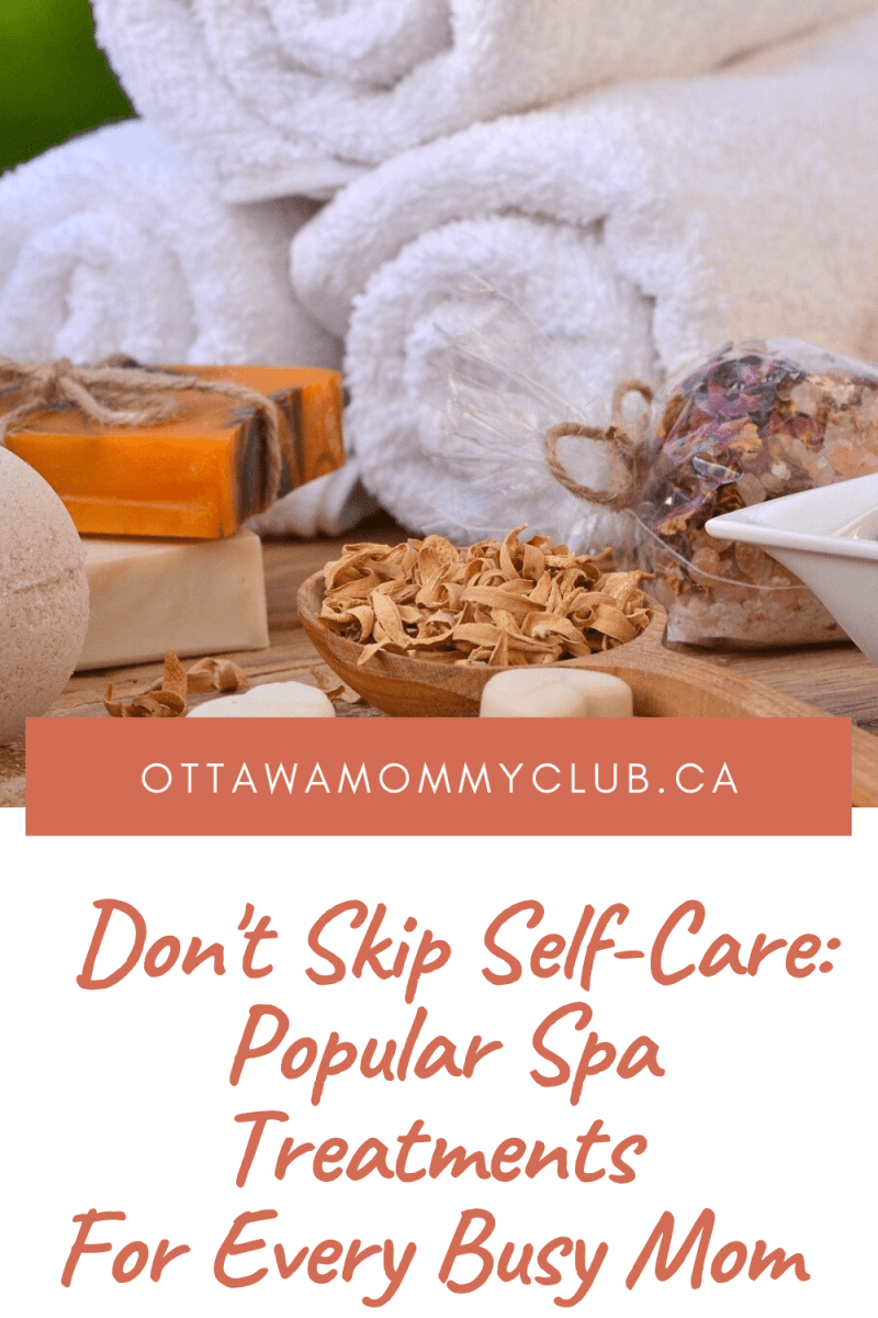 Popular Spa Treatments For Every Busy Mom