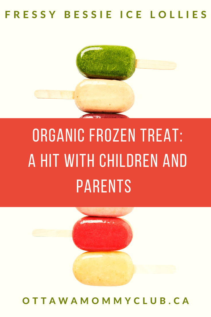Organic Frozen Treat: A Hit With Children And Parents