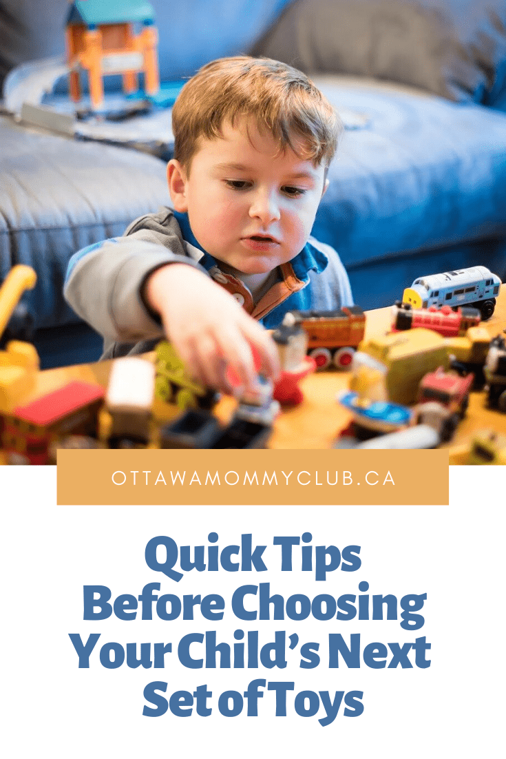 Quick Tips Before Choosing Your Child's Next Set of Toys