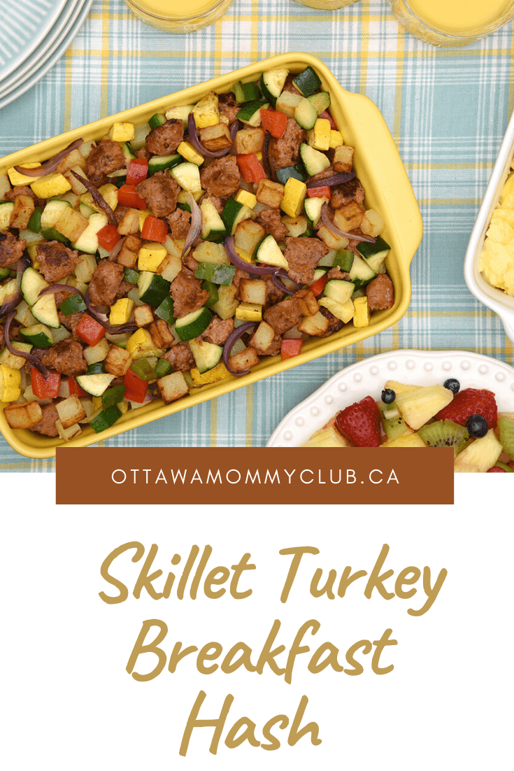 Skillet Turkey Breakfast Hash Recipe
