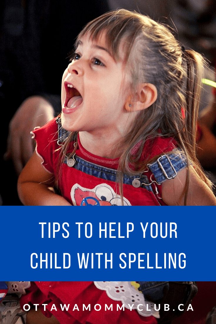 Tips to Help Your Child with Spelling