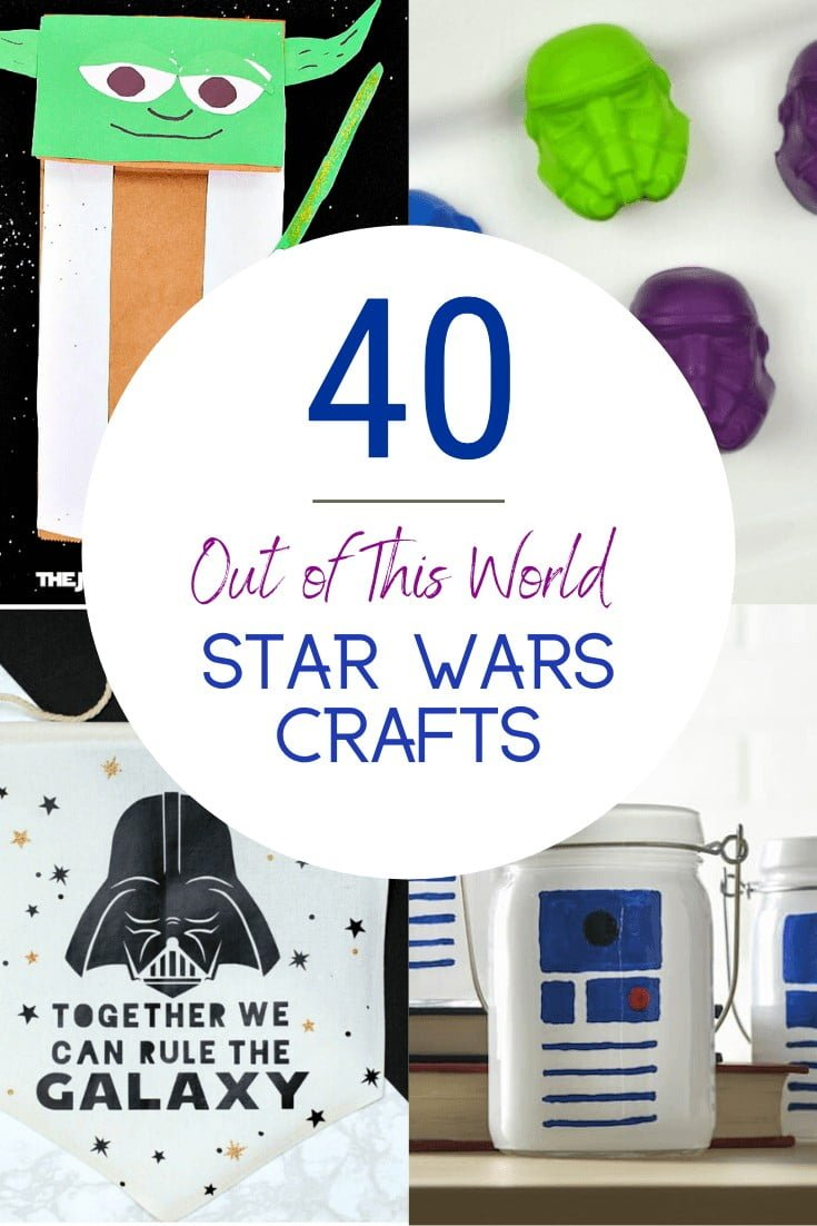 40 Star Wars Crafts For Kids