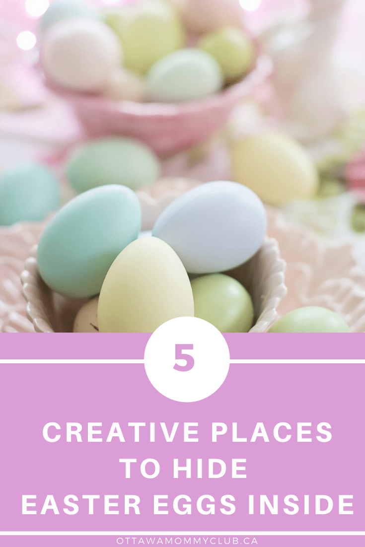 5 Creative Places to Hide Easter Eggs Inside