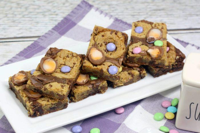 Cadbury Chocolate Chip Cookie Bars