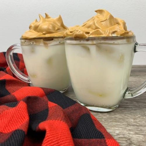 French Vanilla Dalgona Coffee Recipe