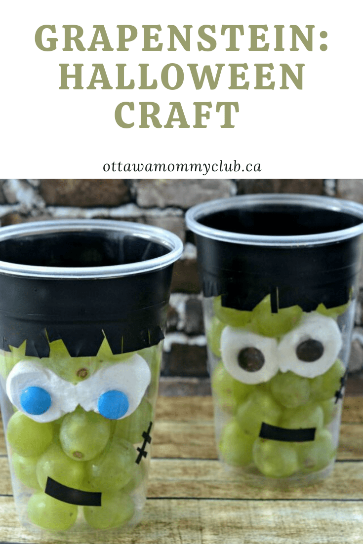 Grapenstein‏: Halloween Craft and Healthy Snack