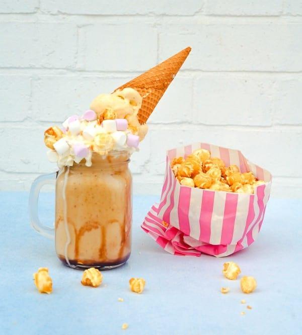 popcorn and milk shake