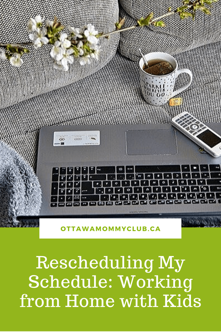 Rescheduling My Schedule: Working from Home with Kids