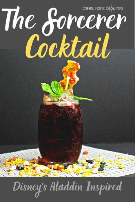 The Sorcerer Cocktail Disneys Aladdin Inspired by Cool Moms Cool Tips.