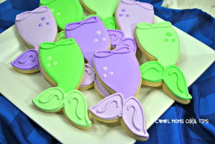 How to make Mermaid cookies by Cool Moms Cool Tips