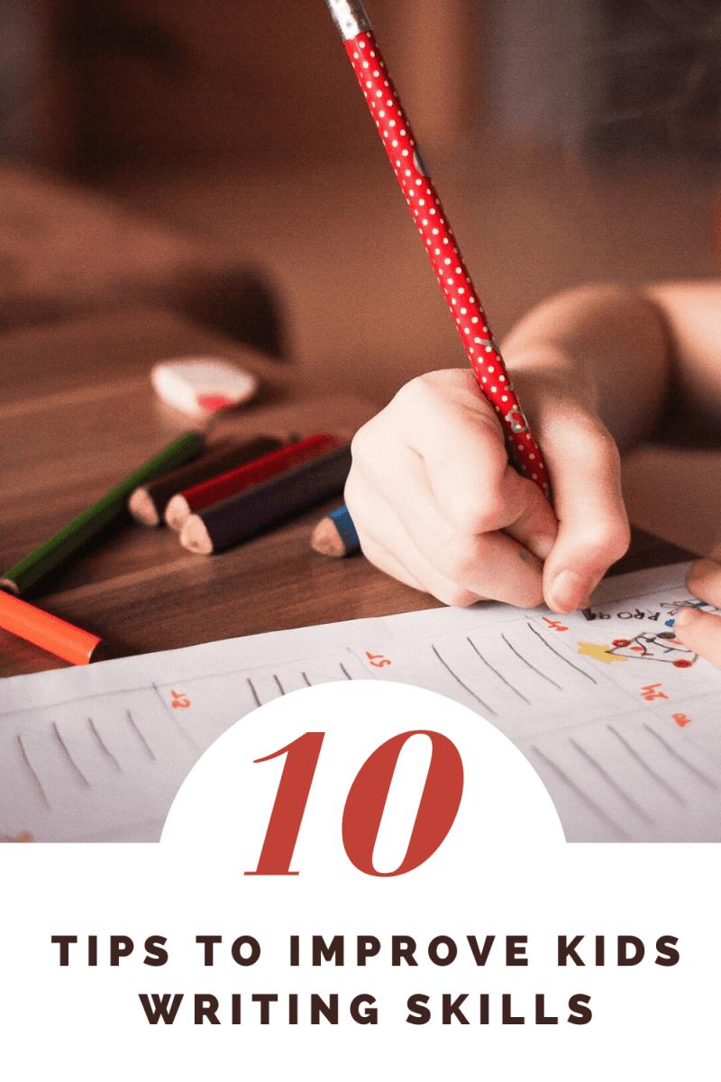 Tips to Improve Kids Writing Skills