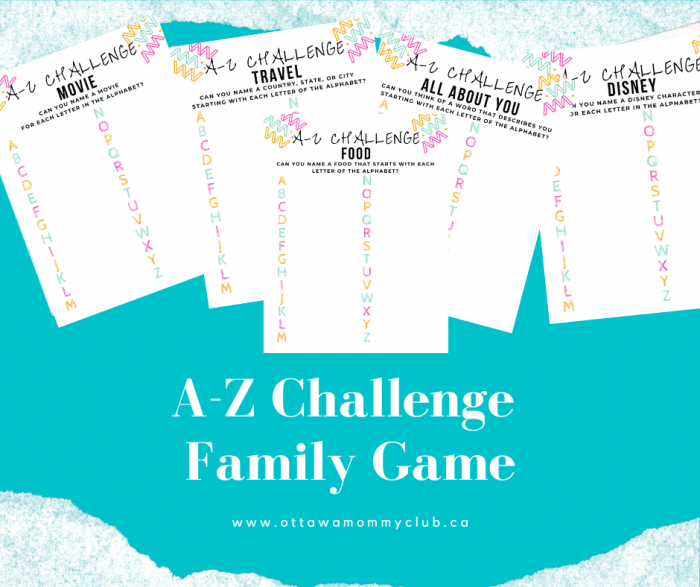 Family Game with Printable