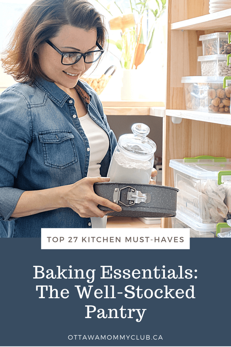 Baking Essentials: The Well-Stocked Pantry