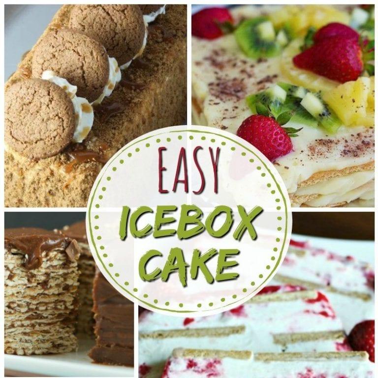 12 Easy Icebox Cake Recipes