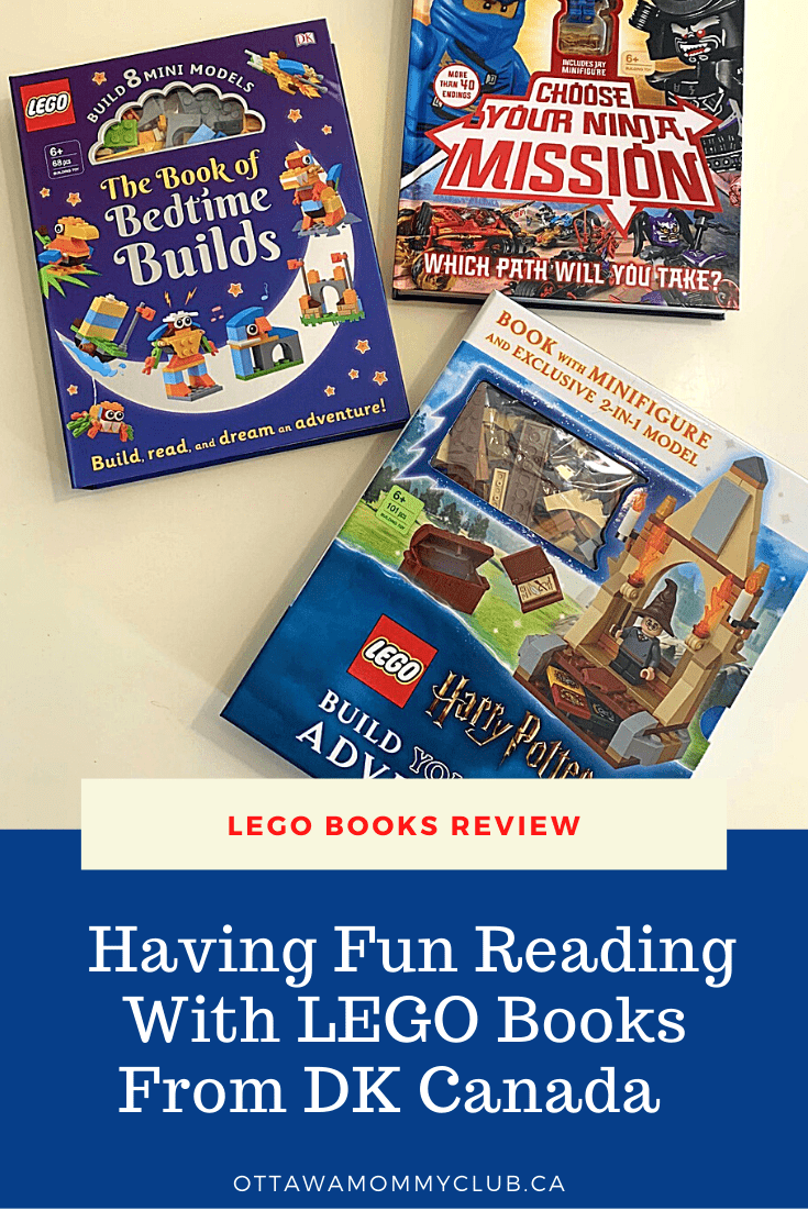 Having Fun Reading with LEGO Books From DK Canada