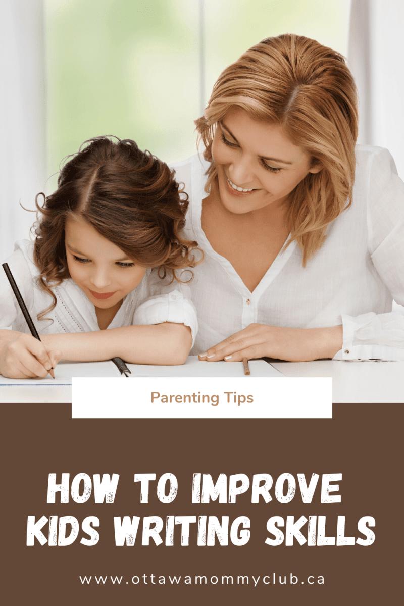 How to Improve Kids Writing Skills