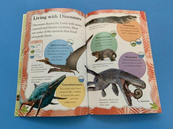 Inside of DK Canada Book