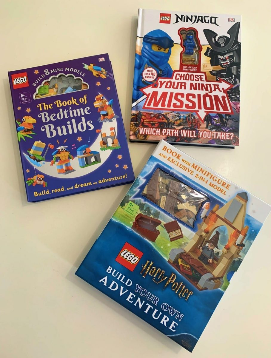 Having Fun Reading with LEGO Books From DK Canada  – Review