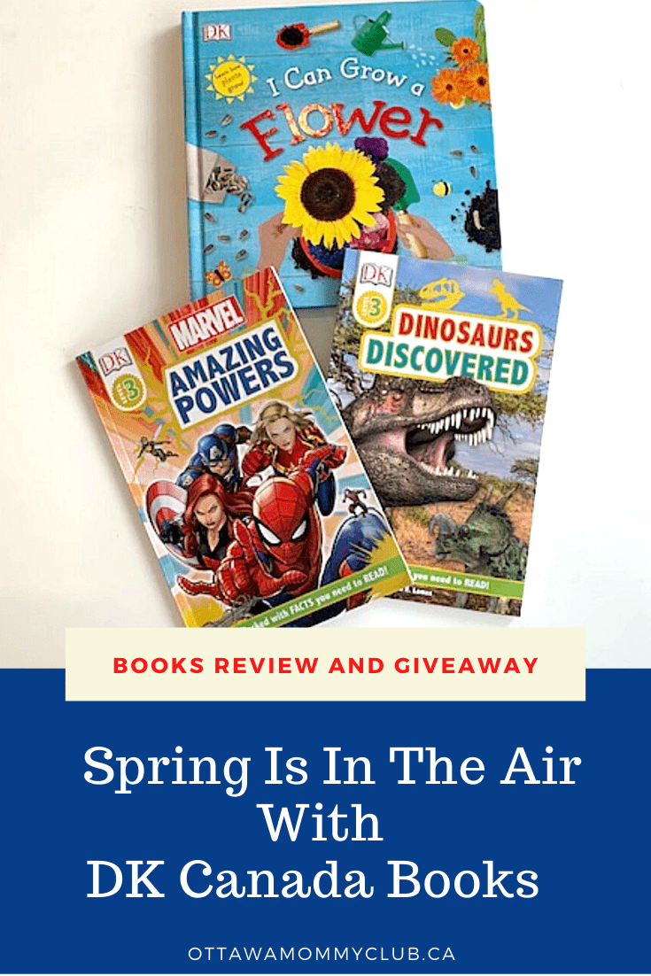 Spring Is In The Air With DK Canada Books