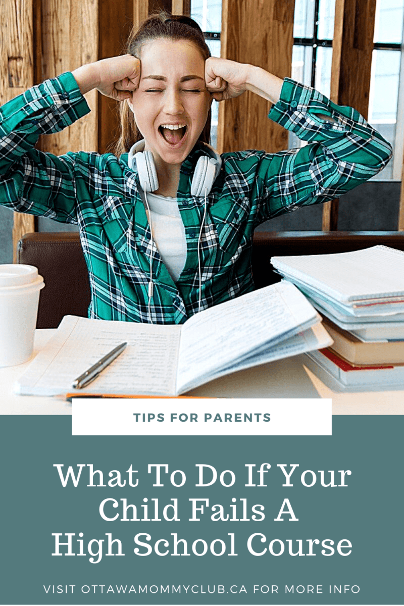 What To Do If Your Child Fails A High School Course