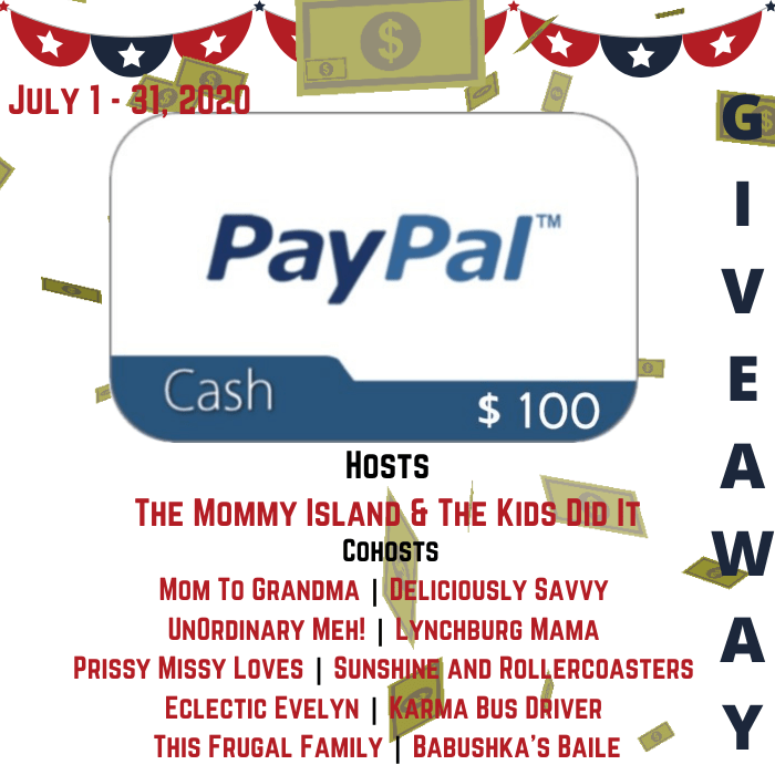 $100 PayPal GIVEAWAY